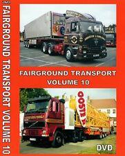 NEW FAIRGROUND TRANSPORT VOLUME 10 DVD SHOWMANS FUNFAIR BARNSTAPLE BRIDGWATER