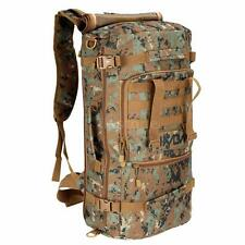 Military Tactical Backpack Outdoor Camping Hiking Trekking Shoulder Bag 45L L8I5