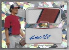 2013 Finest ATOMIC REFRACTOR PATCH/AUTO Anthony Rendon RC #d 3/5