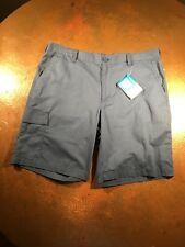 Men's Cargo Short Columbia Dog Lake Blue Sz 38