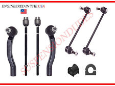 8PC Front Sway Bar Links Bushings Inner Outer Tie Rod Ends 2004-10 Toyota Sienna