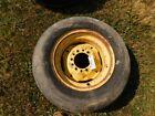 John Deere Tractor Goodyear 9.5 - 15 6 lug tire & rim  Tag #1507