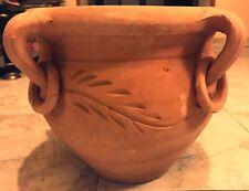 Vaso/Anfora in terracotta fatto a mano