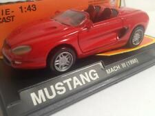1/43 MUSTANG MACH III 1998 NEW RAY miniatura coche metal escala DIECAST