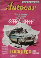 Autocar magazine 30 December 1960 featuring Bentley S2 Continental road test