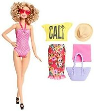 Barbie Glam Vacation Doll Pink Polka Dot Summer Beach