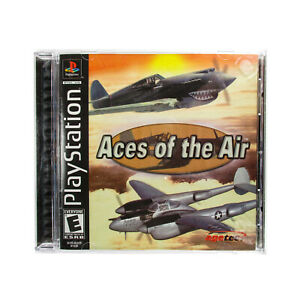 Aces of the Air (Sony PlayStation 1, 2002) •Black Label •Complete