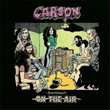 CARSON On The Air Recorded Live 2CD 1970-1973 NEW REISSUE & Unreleased Tracks