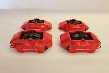 Porsche 997 996 Carrera 911 987 986 Boxster Front Rear Brembo Caliper Brake Red