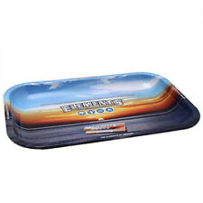 ELEMENTS Classic Blue Metallic Rolling Large Tray 27.5 x 17.5 cm