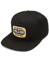 Volcom Cresticle Cap in Black on Black