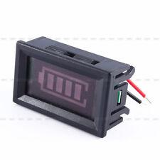 Batterieanzeige Digital LED examer Messgerät 12V Leitsäure Batterien Kapazität