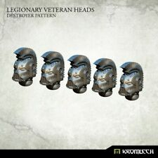 SPACE MARINES Legionary veteran heads destroyer pattern NEW 40K Kromlech