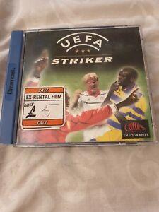Sega Dreamcast UEFA STRIKER