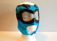 Blue & White LUCHADOR KIDS Mask lucha libre wwe libre Halloween NEW Costume 2