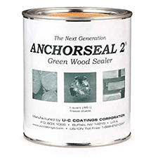 Anchorseal 2 Green Wood Sealer Quart New & Improve Protects Against End Grain