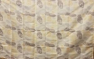 """Ambesonne Pineapple Decor Tapestry, Fruit Theme Pattern 40""""x 60"""" New"""