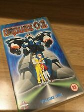 Orguss 02 Volume 1 Manga Anime VHS Video Tape