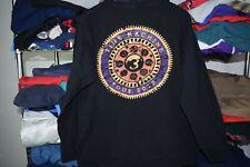 Rush 2010 Time Machine Tour Long Sleeve t shirt Men's Large L/XL DAMAGE Black