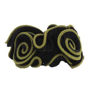 Hair Scrunchie Ponytail Holder Velvet Flower Hair Ties Rope Bands Elastic Gift
