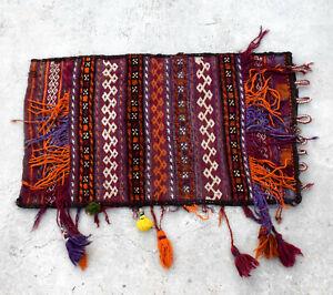 Cushion Cover Handmade Woolen Baloch Vintage Handwoven Pillow Hand Woven Tribal
