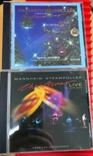2 Mannheim Steamroller CD's Christmas Live and A Fresh Aire Christmas