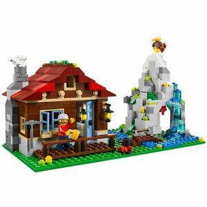 LEGO CREATOR 3-in-1 Mountain Hut 550 Piece Kids Building Playset   31025