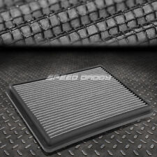 FOR 99-17 SILVERADO/SIERRA SILVER REUSABLE/WASHABLE DROP IN AIR FILTER PANEL