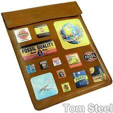 Fossil ipad funda, cuero, funda protectora, Tablet PC/ordenador cubierta protectora, cuero, cover nuevo