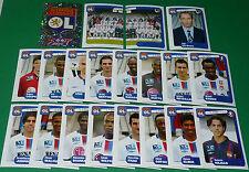 PANINI FOOTBALL FOOT 2005 OLYMPIQUE LYONNAIS LYON OL COMPLET FRANCE 2004-2005