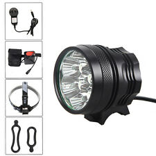 Waterproof Rechargeable 20000LM 7X XM-L T6 LED Bicycle Light MTB Head Torch Lamp