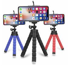 Smartphone Universal Stativ Handy Klemmstativ Tripod extrem flexibel Farbwahl
