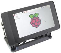 "Raspberry Pi 7"" Touchscreen Case, Black - SMARTICASE"