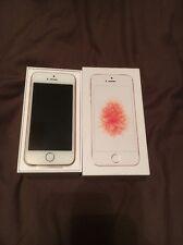 IPhone se 16 Go Or Rose Débloqué dans son boîtier avec Extras Apple Garantie 16/2/18