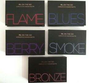 PS Primark Complete Eyeshadow Palette FLAME, BLUES, BERRY, SMOKE and BRONZE Gift
