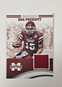 2016 Panini Collegiate Mississippi State Dak Prescott patch card