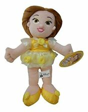 "Disney Parks Fairytale Beginnings Belle Plush Plushy Beauty and the Beast 13"""