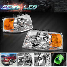For 2003 2004 2005 2006 Ford Expedition Headlights 03 04 05 06 Replacement Lamp