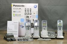 Panasonic KX-TG254 SK 6.0 PLUS link2cell w 2 handsets