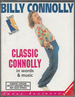 Billy Connolly Classic Words Music  2 Cassette Audio Comedy Stand Up FASTPOST
