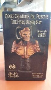 BUFFY THE VAMPIRE SLAYER ''THE FYARL DEMON'' BUST LIMITED EDITION  84/2500