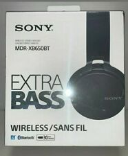 New Sony Mdr Xb650Bt Over-the-Ear Wireless Headphones - Black-Free Shipping!