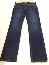 UNCHARTED TERRITORY WOMENS BLUE DARK WASH COTTON BLEND JEANS SIZE 31 (12)