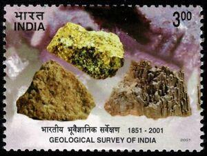 INDIA 2001 Geological Survey of India MUH