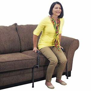 barra apoyo movilidad pie ajustable proporciona estabilidad levantarse silla cam
