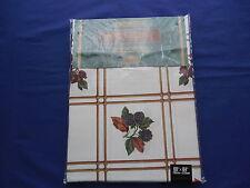 Tobin Thanksgiving Holiday Tablecloth Acorns & Berries Oblong 60 x 84 NIP