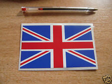 ** COLOUR** UNION JACK FLAG -  STICKER/DECAL  125mm x 78mm - BRITISH FLAG