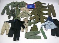 G.I. Joe 12 inch Figure Military Clothing Uniform Lot w/American Flag!