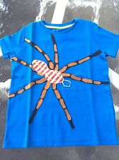 MINI BODEN Boy's Cool Spider Short Sleeve Shirt, 100% Cotton, 6-7 years. NWT!!