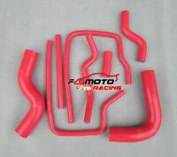 RED Silicone Radiator Hose For Subaru Impreza WRX/STI GC8 GF8 EJ20 EJ25 96-2000